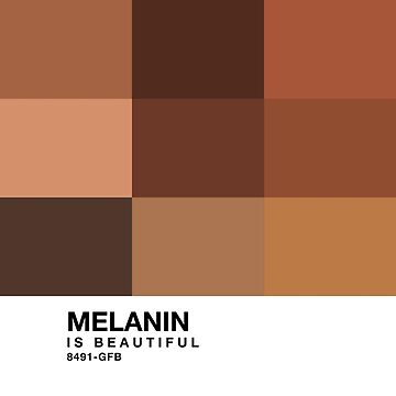 Melanin Pantone by glutenfreebae