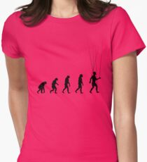 99 Steps of Progress - Public opinion Womens Fitted T-Shirt