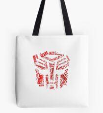 Transformers - Autobot Wordtee Tote Bag