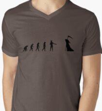 99 Steps of Progress - Courtesy Men's V-Neck T-Shirt