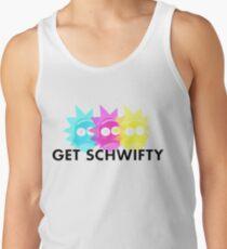 GET SCHWIFTY (CMYK) Tank Top