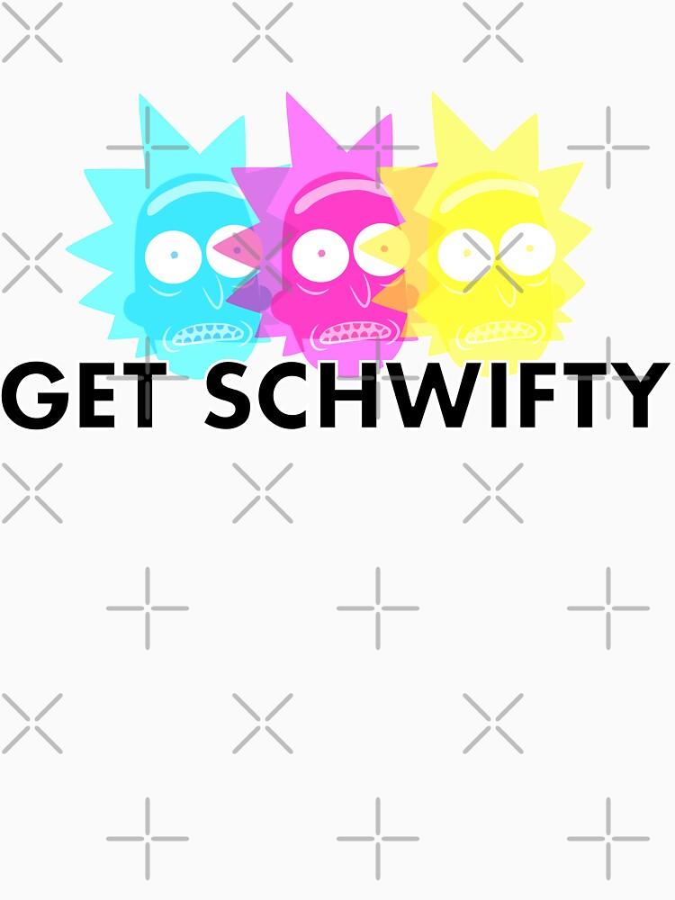 GET SCHWIFTY (CMYK) | Unisex Tank Top