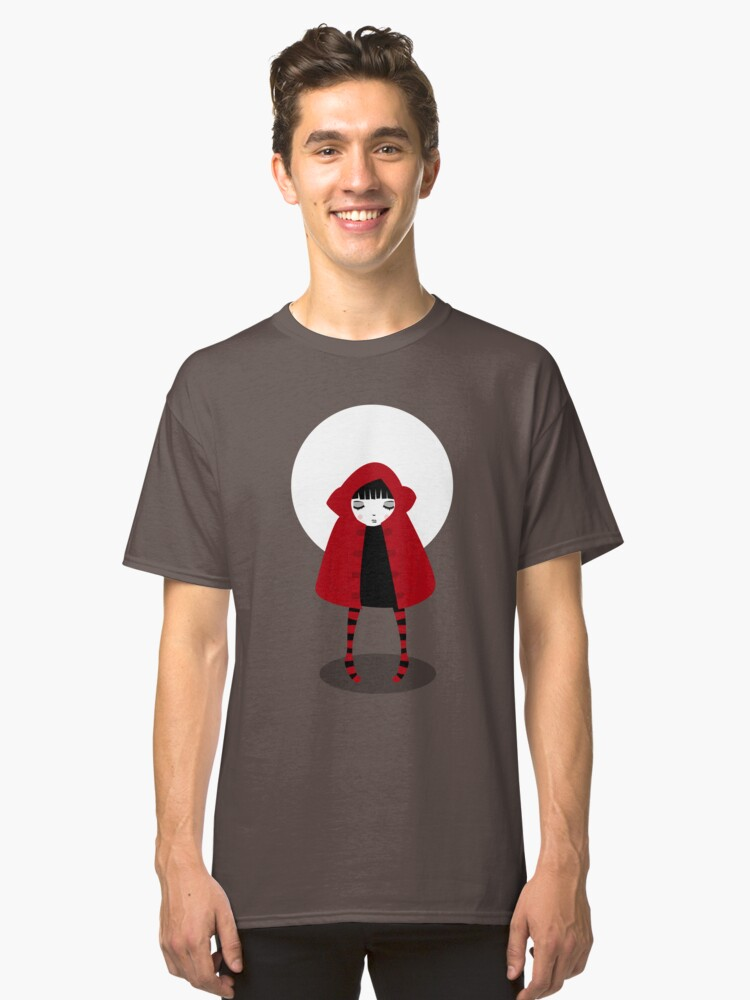 Little Red Riding Hood Classic T-Shirt Front