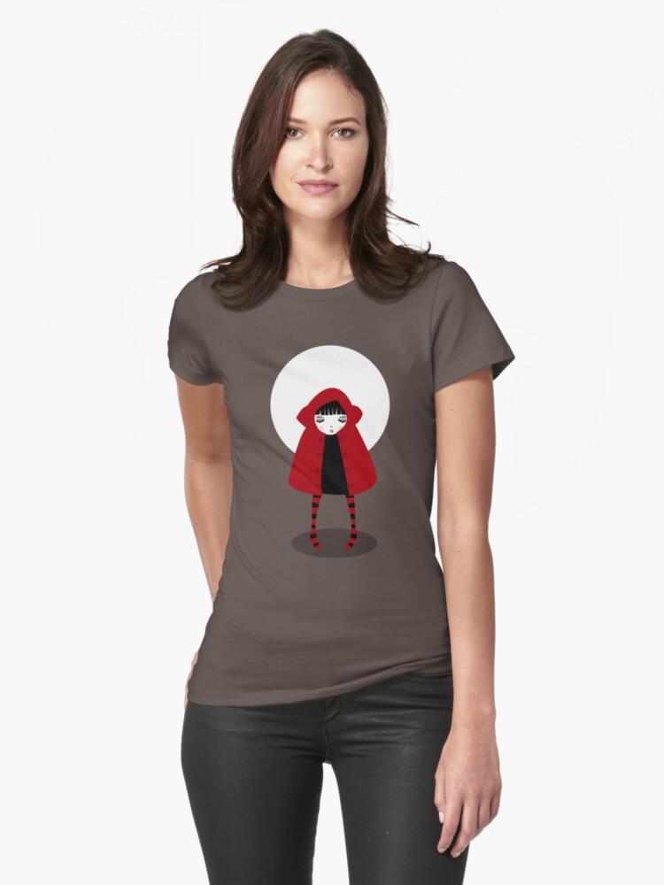 Little Red Riding Hood Womens T-Shirt Front