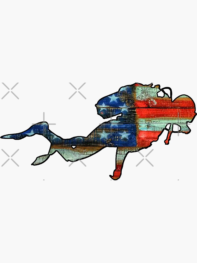 USA Scuba diver by Statepallets