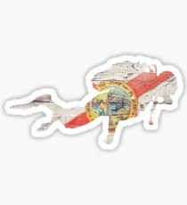 Scuba Diver Florida Sticker