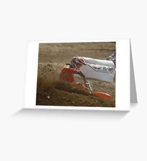 #6 Nice Corner Roost Loretta Lynn's SW Area Qualifier Competitive Edge MX - Hesperia, CA. USA  Greeting Card