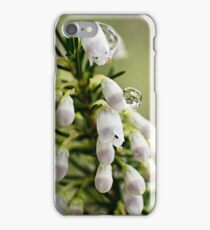 Heather in Spring Rain iPhone Case/Skin