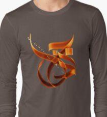 """Threshold"" (Arabic) Long Sleeve T-Shirt"