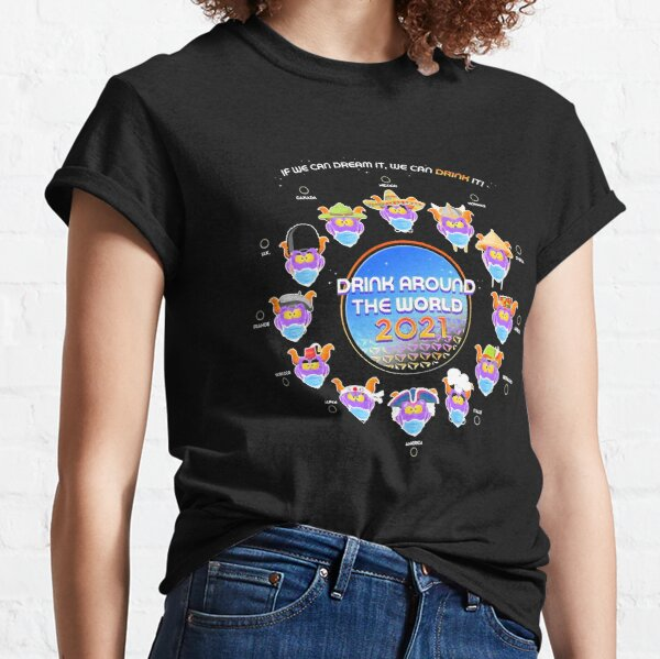 Drink Around The World 2021 - Masked Classic T-Shirt