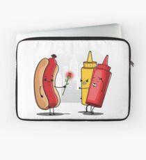 Hot Dog Romance Laptop Sleeve