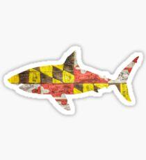 Maryland Shark Sticker