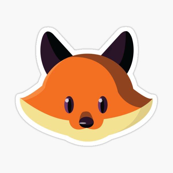 Un petit renard Sticker