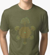 Roots Maze Tri-blend T-Shirt