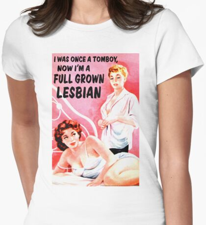 """""""Once I Was a Tomboy"""" T-Shirt"""
