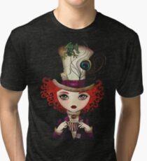 Lady Hatter Tri-blend T-Shirt