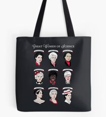 Great Women of Science {Set} Tote Bag