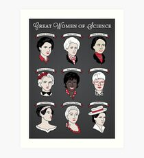 Great Women of Science {Set} Art Print