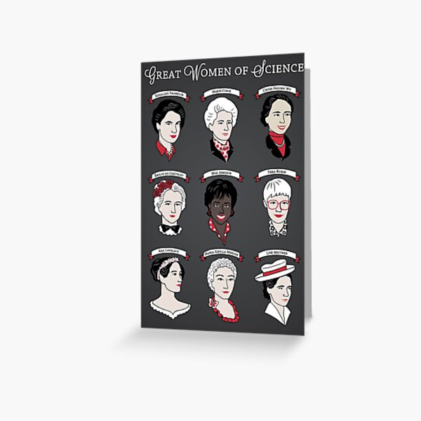 Great Women of Science {Set} Greeting Card