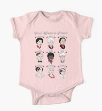Great Women of Science {Set} One Piece - Short Sleeve