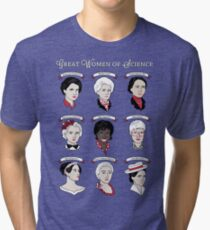 Great Women of Science {Set} Tri-blend T-Shirt