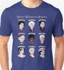 Great Women of Science {Set} Slim Fit T-Shirt