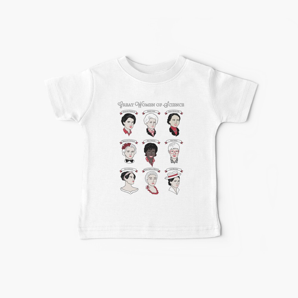 Great Women of Science {Set} Baby T-Shirt