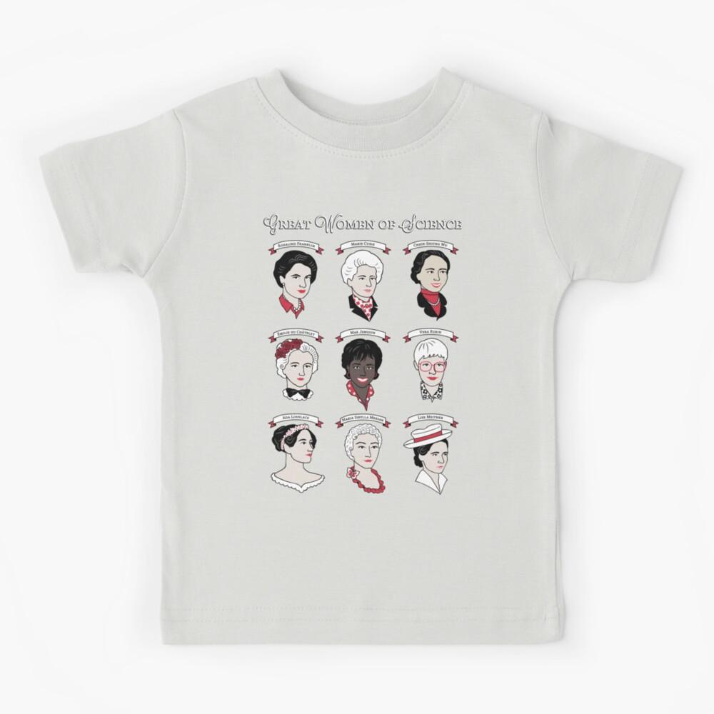 Great Women of Science {Set} Kids T-Shirt