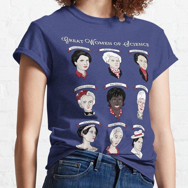 Grandes mujeres de la ciencia {Set} Camiseta clásica