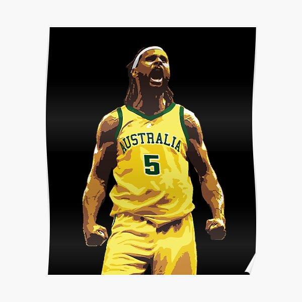 Patty Mills Boomers Australia Basketball Poster