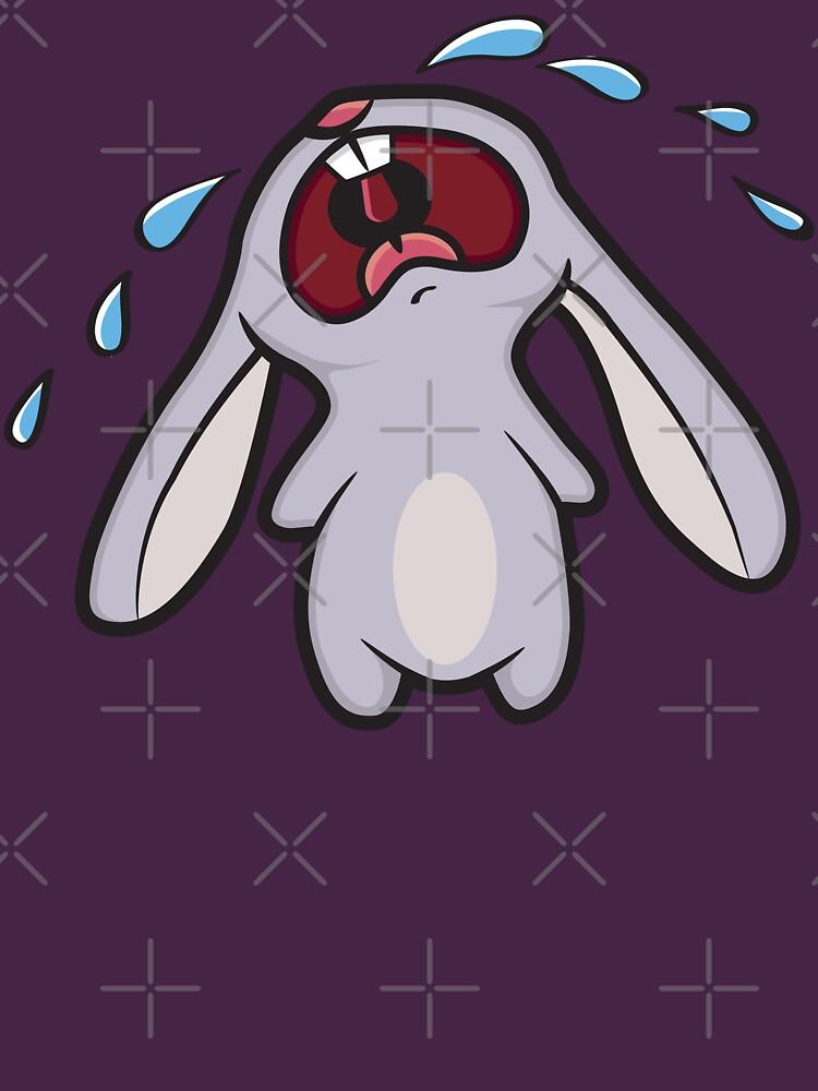 Sad Crying Bunny Rabbit | Women's T-Shirt