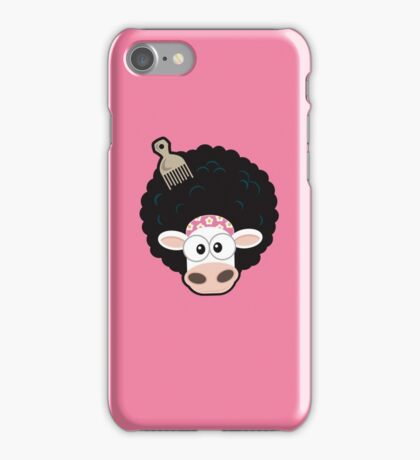 Afro Cow iPhone Case/Skin