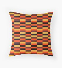 District Line Moquette Throw Pillow