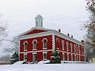 Iron County Courthouse Dressed for Christmas by FrankieCat