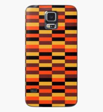 District Line Moquette Case/Skin for Samsung Galaxy