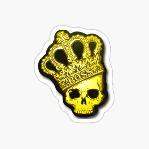"Counter Strike Global Offensive ""Crown"" Sticker Sticker"