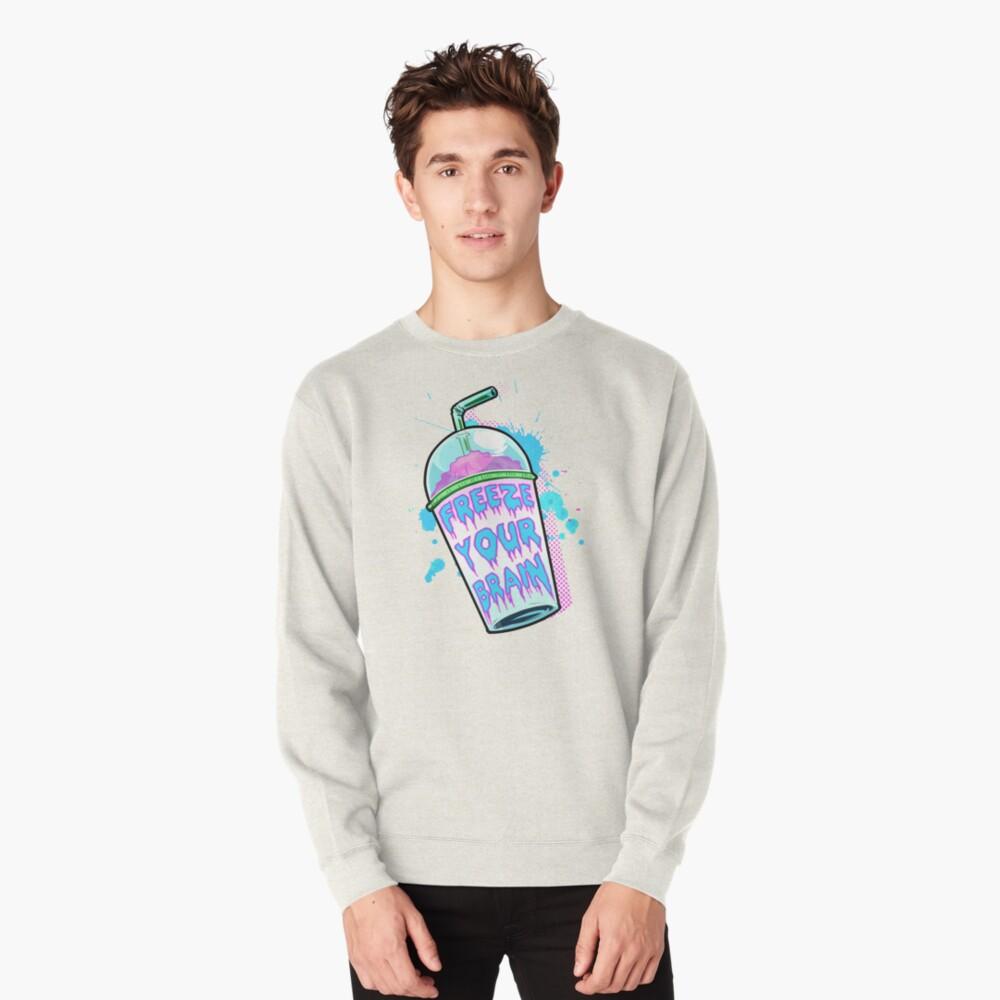 Freeze Your Brain Pullover Sweatshirt