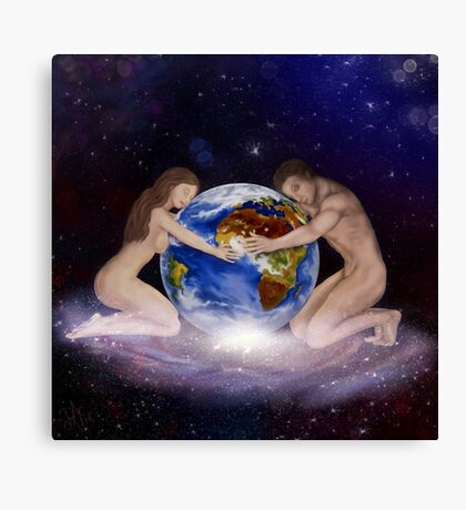 Earth Child Canvas Print
