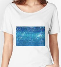 Rainbow water drops, abstract background Women's Relaxed Fit T-Shirt