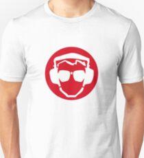 Headphones & Pilot Specs - RED T-Shirt