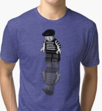 Happy on the outside Tri-blend T-Shirt