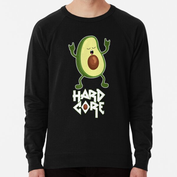 Hard Core Pun Death Metal Vegan Festival Metalcore Lightweight Sweatshirt