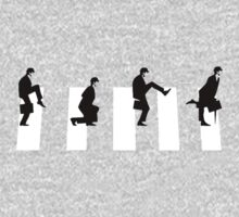 Ministry of silly walks/abbey road | Unisex T-Shirt