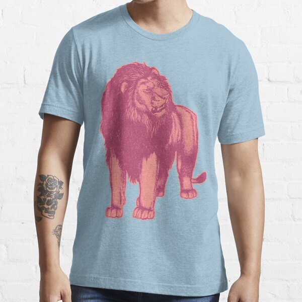 Pink Lion T-Shirts by Cheerful Madness!! Essential T-Shirt