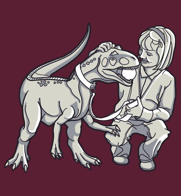 Jessie's Pet T-Rex by rubyred