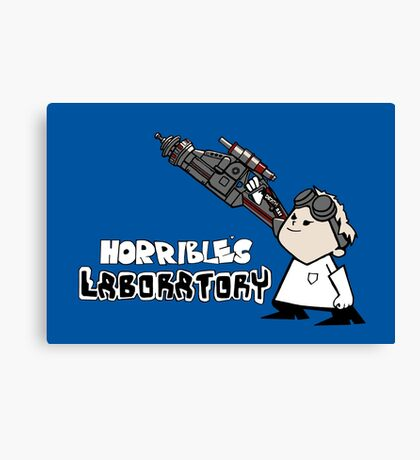Horrible's Laboratory Canvas Print