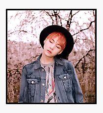 BTS - Suga V1 Photographic Print