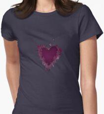 Butterfly Heart  Women's Fitted T-Shirt