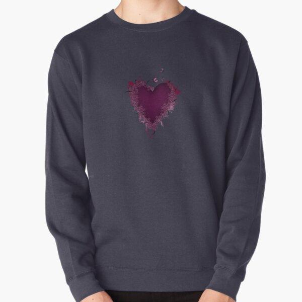 Butterfly Heart  Pullover Sweatshirt