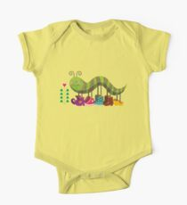 Caty Caterpillar One Piece - Short Sleeve